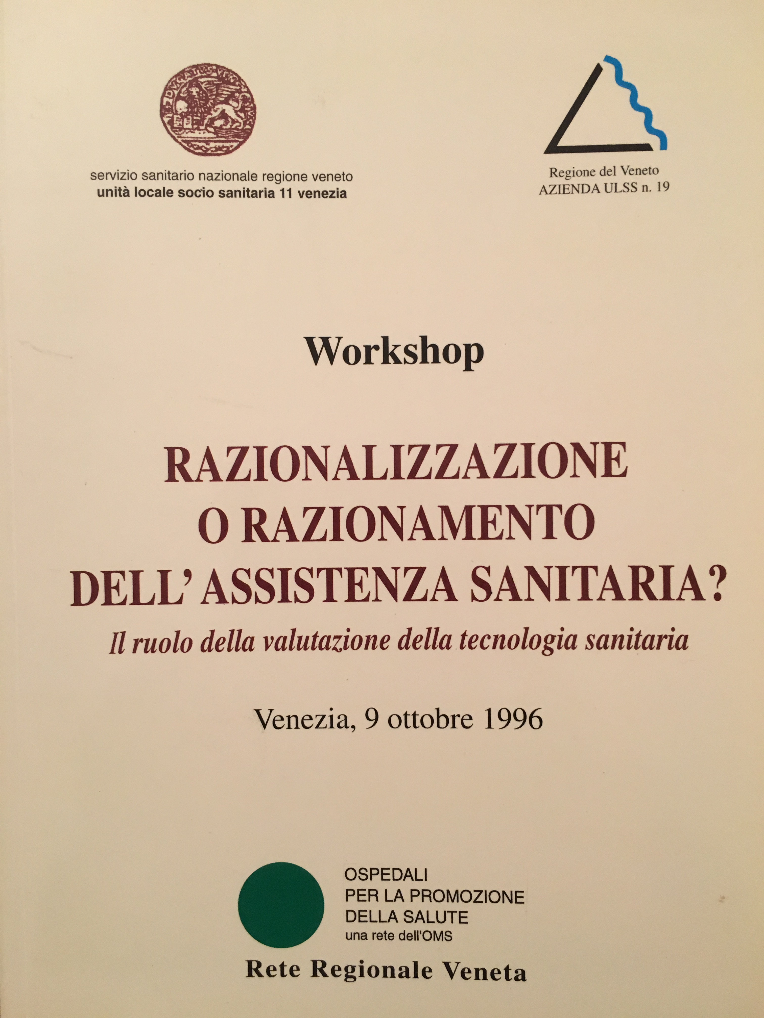 Healthcare Reform Carlo Favaretti